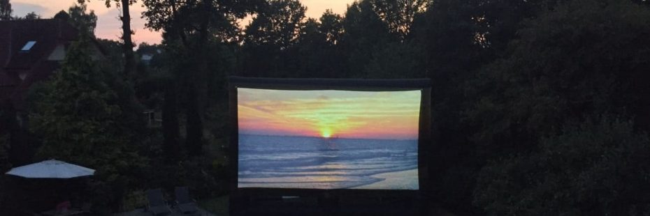 Outdoor Cinema near Looe