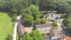 Arial shot summercourt 4