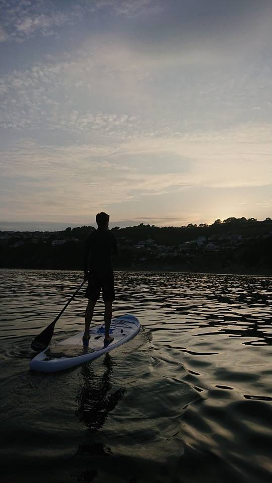 Paddle Boarding in Looe
