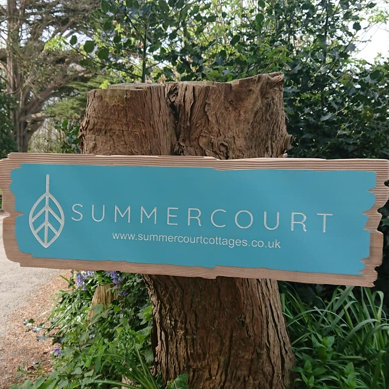 New Summercourt sign