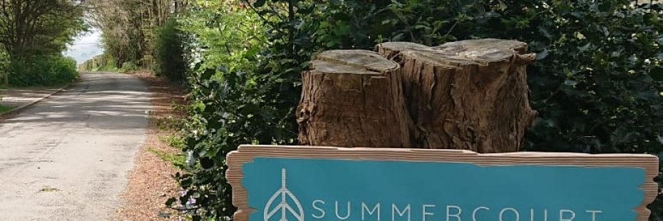 Summercourt sign