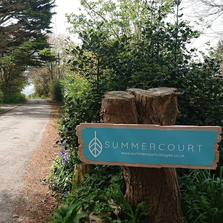 Summercourt sign